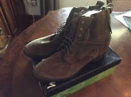 s lace up combat boots size 11 bnib s sam edelman mackay lace up combat boots suede moss