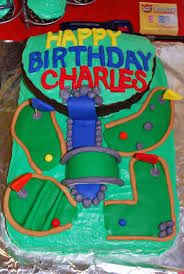 18 best birthday cakes images on pinterest golf party birthday