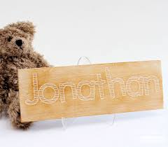 i made a balsa wood name plaque for my nephew s bedroom using my