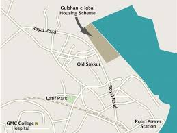 sukkur map lost records mafia ruining housing scheme in sukkur the express