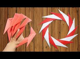 Origami Paper Claws - origami easy how to make claws paper