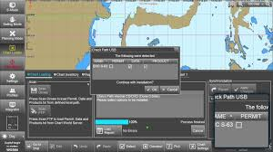 eglobe g2 ecdis installing avcs update media youtube