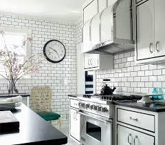 kitchen backsplash dark cabinets dress your kitchen style some white subway tiles kitchens tile