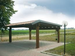 gazebo in legno per auto prezzi carport e garage su misura e senza opere murarie