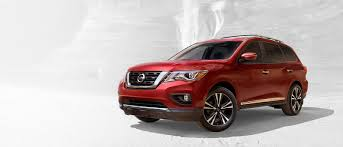 nissan pathfinder in snow drive with confidence the new 2017 nissan pathfinder