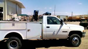 Dodge 3500 Pickup Truck - auction 925797 2000 dodge ram 3500 dually utility truck youtube