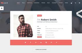 Interactive Resume Examples by Resume Website Examples Doctor Resume Templates U2013 15 Free
