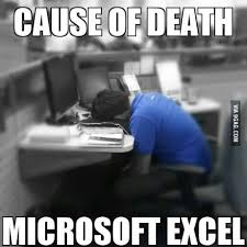 What Is A Meme Exle - i hate excel spreadsheets google search poorly spread sheets
