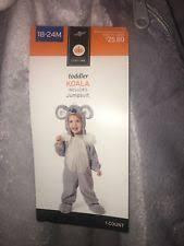 target toddler unisex koala jumpsuit halloween costume gray 18 24