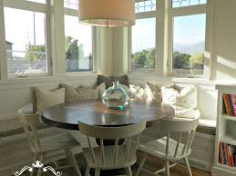 corner kitchen table with bench get this look sunny corner
