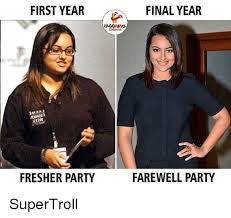 Memes Party - first year final year fresher party farewell party supertroll