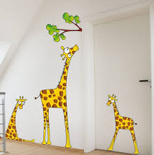 kids room wall decor ideas black exclusive wood tree bookcase bed