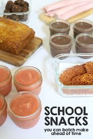 school snacks you can batch make ahead of time papa bubba
