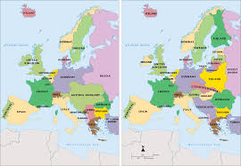 Map Of Europe Pre Ww1 by Presentation Name