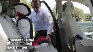 si e auto romer kidfix britax römer kidfix xp einbau des sitzes
