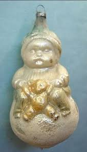 Old German Christmas Decorations by Rare Old German Christmas Clip On Ornament Lauscha 1900 1940