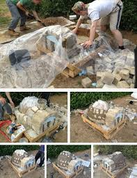 How To Build A Backyard Pizza Oven by How To Make An Outdoor Pizza Oven Home Design Garden