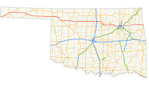 Map Of Oklahoma State by U S Route 412 In Oklahoma Wikipedia
