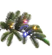 ge 9 ft just cut noble fir ez light artificial christmas tree