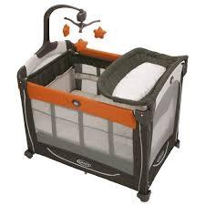 Graco Baby Crib by Ug Bpp270 Orange Travel Bassinet Crib Playard Pack N And Play Pen