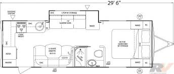 Caravan Floor Plans 2 Bedroom Fifth Wheel 5th Wheel Camper Floor Plans Crtable