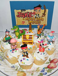 amazon disney jake land pirates figure cake