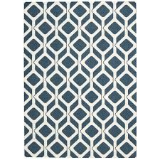 Graphic Area Rugs Rug Squared Milford Cadet Blue Graphic Area Rug 5 X 7 Free