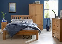 Oak Double Bed The Oakland Double Oak Bed Oak City - Oakland bedroom furniture