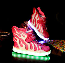 high top light up shoes kids light up shoes high tops with wings peach white buy online