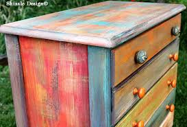 painted furniture shizzle design whimsical patchwork painted dresser