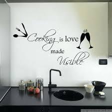 stickers cuisine citation autocollant cuisine photos de design d intérieur et décoration