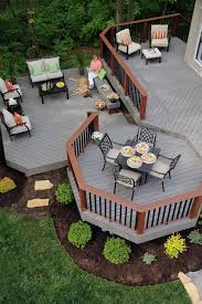 Picture Of Decks And Patios Decks Patios Getting Fancy Patio Furniture On Patios And Decks