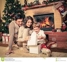christmas fireplace stock image image 27173171
