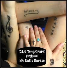 kool or katastrophy d i y temporary tattoos