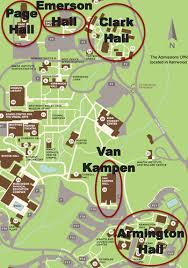 clark map westmont conference and event services