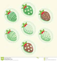 s day strawberries st s day strawberries stock vector image 86224676