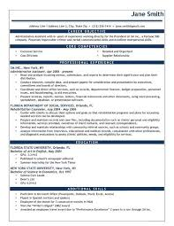 resume exles for objective section objective section of resume turismoytravel co