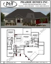 floor plans ranch prairie homes inc floorplans