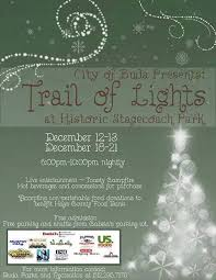 trail of lights parking christmas party waterleaf falls