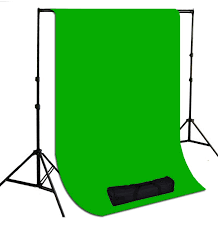 photography backdrop stand 10 x 10 ft chromakey green muslin photography background with