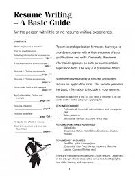 How To Beef Up A Resume Example Of A Written Resume A List Of Retail Cv Templates For