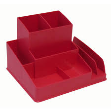 Desk Organizer Tray by Italplast Desk Organiser Watermelon Officeworks