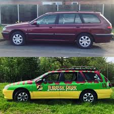 jurassic park car 1 month of turning my peugeot 406 into a jurassic park car all