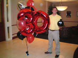 30th birthday balloon bouquets 30th birthday with a bomb pd banquet balloon