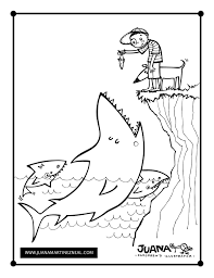 feed sharks u2013 coloring juana martinez neal