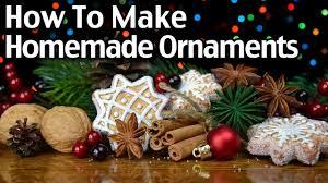 how to make homemade clay and cinnamon christmas ornaments youtube