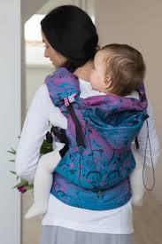 ergonomic carrier toddler size jacquard weave 100 cotton wrap