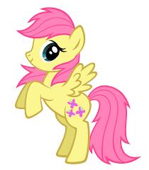 My Little Pony Blind Bag Wave 1 Fluttershy Bb Wave 1 Vexel By Durpy On Deviantart