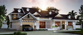 single storied bungalow house home design