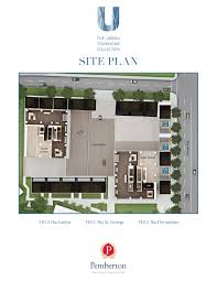 the urban townhome collection pemberton group